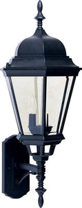 Maxim Westlake 3-Light Outdoor Wall Mount Black 1006BK