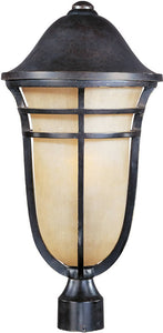 "23""h Westport Vivex 1-Light Outdoor Pole/Post Mount Artesian Bronze"