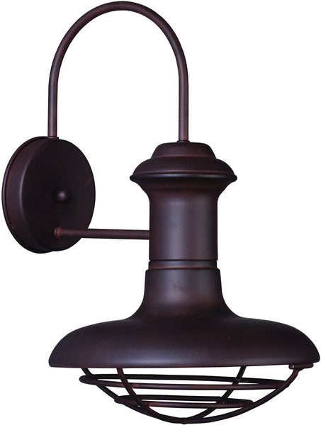 Wharf 1-Light Outdoor Wall Light Empire Bronze