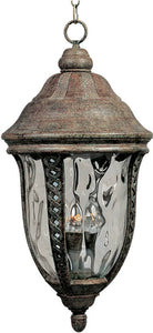 "12""w Whittier Die-Cast Aluminum 3-Light Outdoor Hanging Lantern Earth Tone"