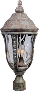 Maxim Whittier Die-Cast Aluminum 3-Light Outdoor Pole/Post Mount Earth Tone 3101WGET