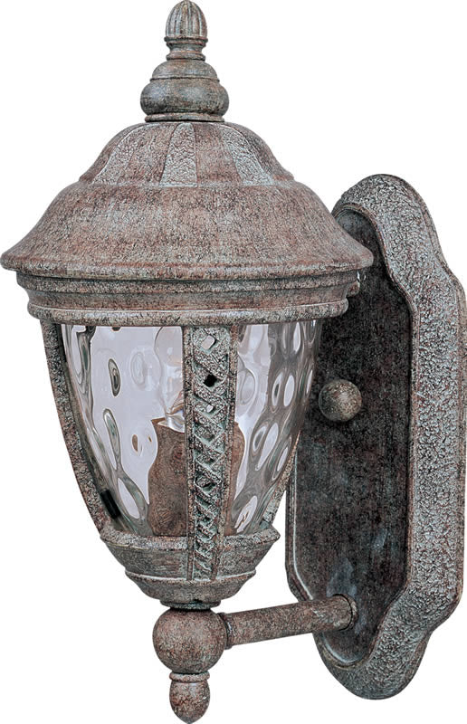 "13""H Whittier Die-Cast Aluminum 1-Light Outdoor Wall Mount Earth Tone"