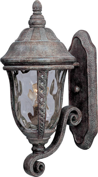 "19""h Whittier Die-Cast Aluminum 1-Light Outdoor Wall Mount Earth Tone"