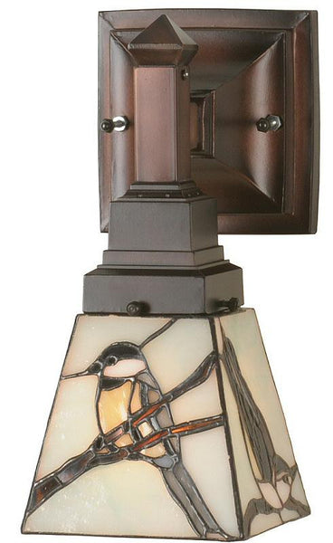 Meyda Tiffany Early Morning Visitor Sconce 98530