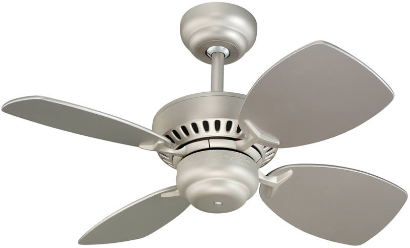 "28""W Colony II 4-Blade Ceiling Fan Brushed Pewter"