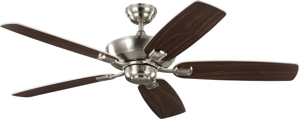 "52""W Colony Max  Ceiling Fan Brushed Steel"
