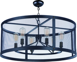 Palladium 5-Light Chandelier with Bulbs