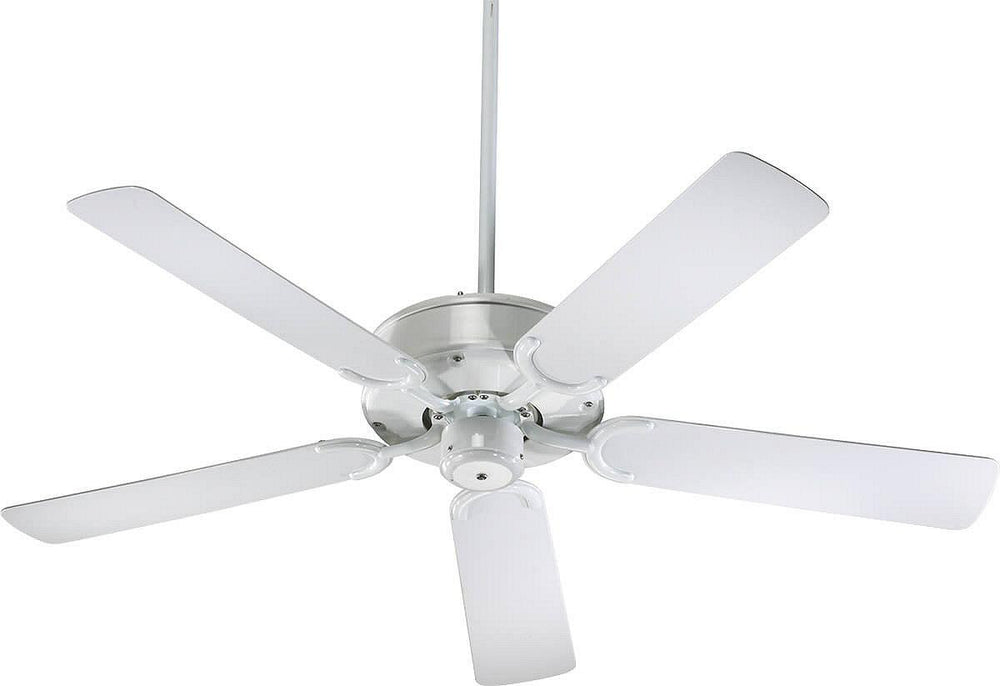 "52""W All-Weather Allure Indoor/Outdoor 5-Blade Patio Ceiling Fan White"