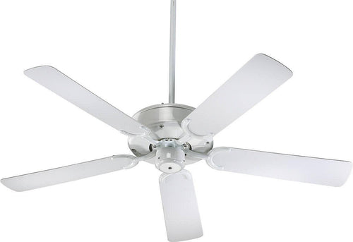 Quorum All-Weather Allure Indoor/Outdoor 52 5-Blade Patio Ceiling Fan White 1465256
