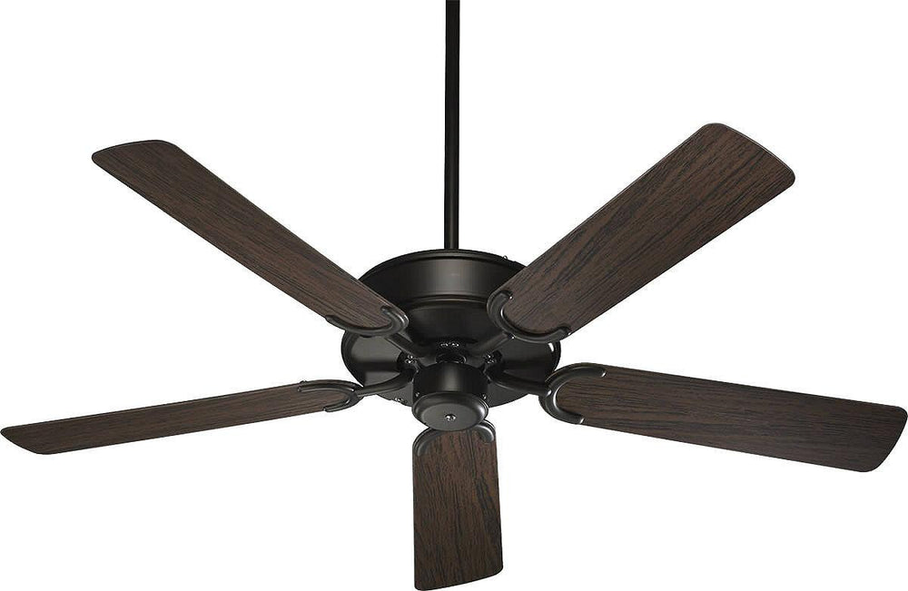 "52""W All-Weather Allure Indoor/Outdoor 5-Blade Patio Ceiling Fan Oiled Bronze"