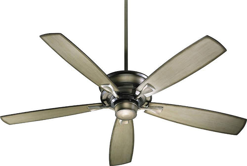Quorum Alton 60 5-Blade Ceiling Fan Antique Flemish 4260522