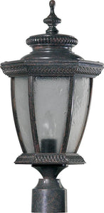 Quorum Baltic 1-Light Outdoor Post Lantern Baltic Granite 780645