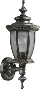"16""h Baltic 1-Light Outdoor Wall Lantern Baltic Granite"
