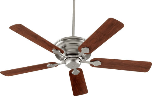 Quorum Barclay Ceiling Fan Satin Nickel 7652565