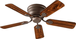 Quorum Barclay Hugger 44 inch  Ceiling Fan Oiled Bronze 75445-86