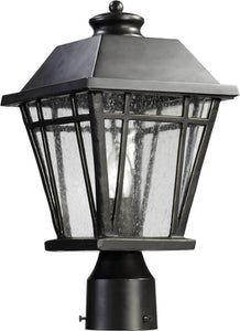 Quorum Baxter 1-Light Outdoor Post Lantern Old World 766895