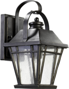 Quorum Baxter 1-Light Outdoor Wall Lantern Old World 764695