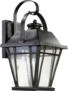 Quorum Baxter 1-Light Outdoor Wall Lantern Old World 764895