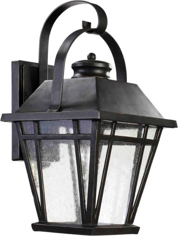 "18""H Baxter 1-Light Outdoor Wall Lantern Old World"