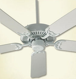 "Capri 42"" 5-Blade Ceiling Fan White"