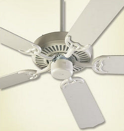 "Capri 42"" 5-Blade Ceiling Fan Studio White"