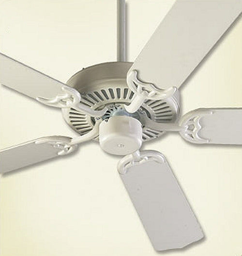 Quorum Capri 42 5-Blade Ceiling Fan Studio White 774258