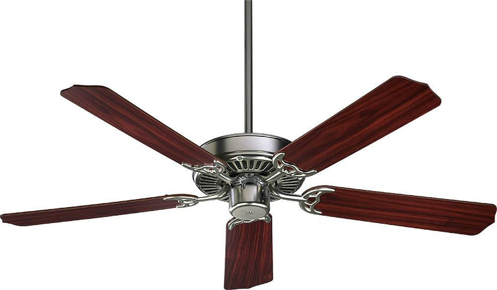"52""W Capri 5-Blade Ceiling Fan Satin Nickel"