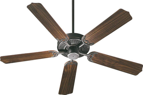 Quorum Capri 52 5-Blade Ceiling Fan Old World 7752595