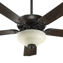 Quorum Capri II 5 Blade Ceiling Fan Oiled Bronze 775259486