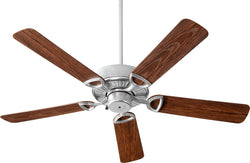 Quorum Estate Patio 52 inch Ceiling Fan Galvanized 143525-924