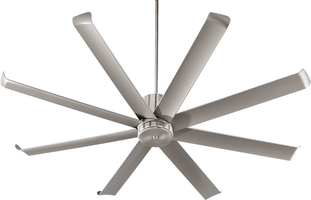 "72""W Proxima Patio Ceiling Fan Satin Nickel"