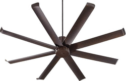 Quorum Proxima Patio 72 inch Ceiling Fan Oiled Bronze 196728-86