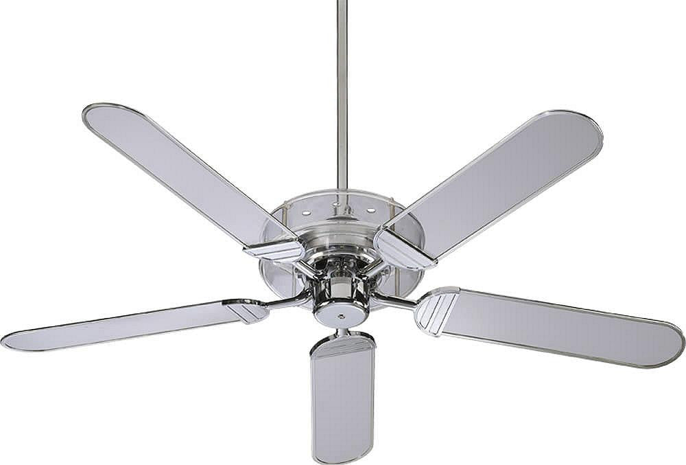 "52""W Prizzm 5-Blade Ceiling Fan Chrome"