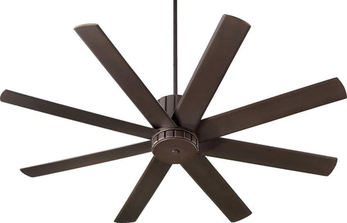 Quorum Proxima 60 inch 8 Blades Ceiling Fan Oiled Bronze 96608-86