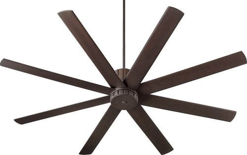 Quorum Proxima 72 inch 8 Blades Ceiling Fan Oiled Bronze 96728-86