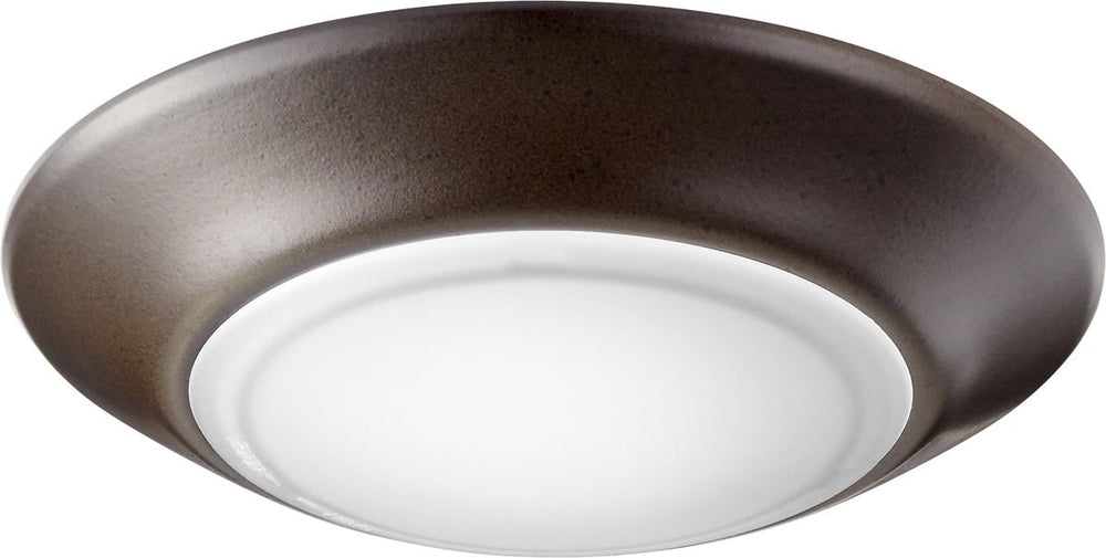 "6""W 1-light LED Ceiling Flush Mount Oiled Bronze"