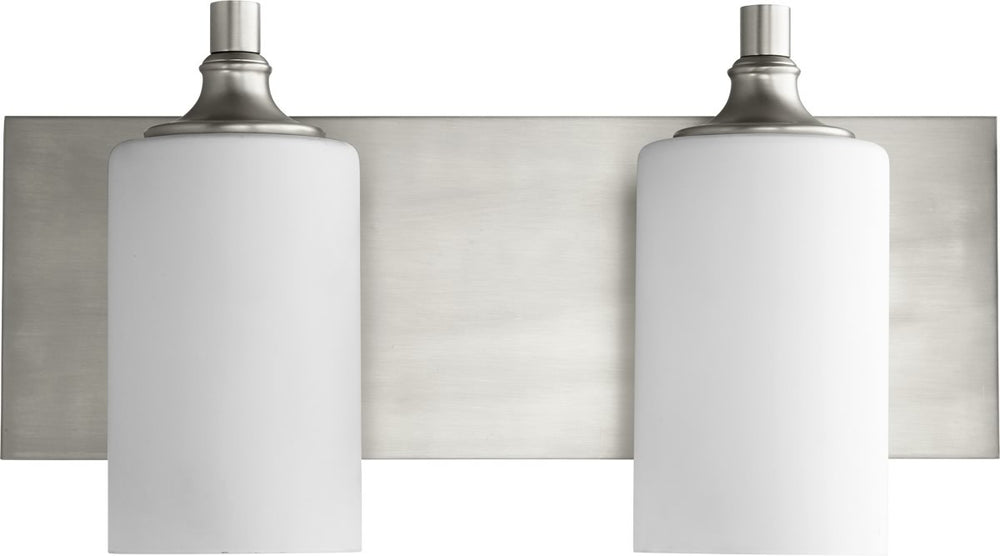 "17""W Celeste 2-light Bath Vanity Light Satin Nickel"