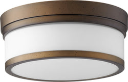 Quorum Celeste 2-light Ceiling Flush Mount Oiled Bronze