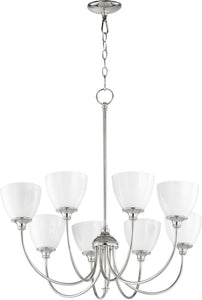 Celeste 8-light Chandelier Polished Nickel
