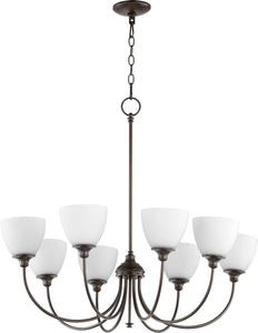 Celeste 8-light Chandelier Oiled Bronze