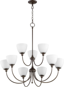 Celeste 9-light Chandelier Oiled Bronze