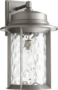 Quorum Charter 1 Light Outdoor Graphite 7246113