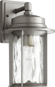 Quorum Charter 1 Light Outdoor Graphite 724673
