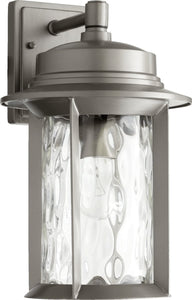 Quorum Charter 1 Light Outdoor Graphite 724693