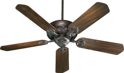 Quorum Chateaux 52 5-Blade Ceiling Fan Toasted Sienna 7852544
