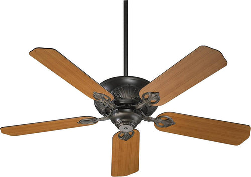 Quorum Chateaux 52 5-Blade Ceiling Fan Oiled Bronze 7852586