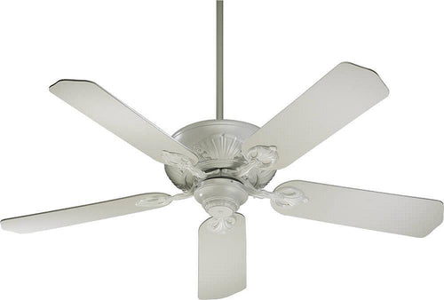 Quorum Chateaux 52 5-Blade Ceiling Fan Studio White 785258