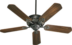 Quorum Chateaux 52 5-Blade Ceiling Fan Old World 7852595
