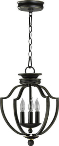 Quorum Cole 3-Light Hall/Foyer Pendant Old World 6772395
