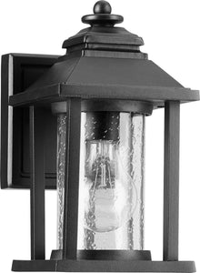 Crusoe 1-light Outdoor Wall Lantern Noir
